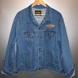 Vintage Race Rock Orlando denim jacket